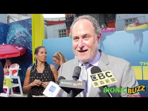 Jon Turteltaub Interview At The Meg World Premiere