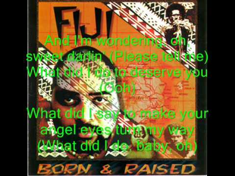 Fiji - Sweet Darling with lyrics