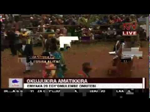 Amatikkira ga Kabaka aga 20....King Muwenda Mutebi II's 20th Coronation Anniversary