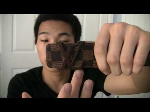 5 Steps to Spot Fakes: Louis Vuitton Belt