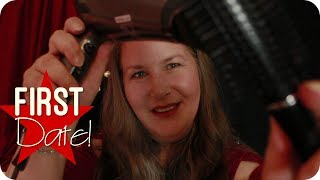 First Date Hairstyle 💕 ASMR Haircut Roleplay Deutsch/German