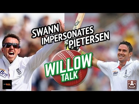 Graeme Swann's Kevin Pietersen impersonation | Triple M | Willow Talk
