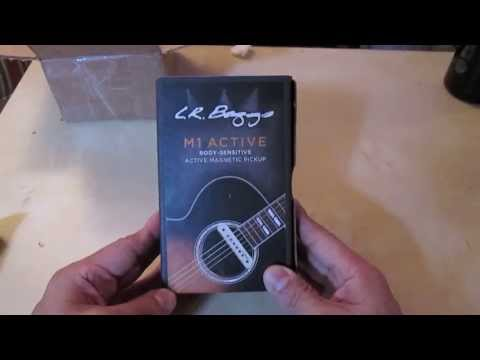 LR Baggs M1A Unboxing and Demo