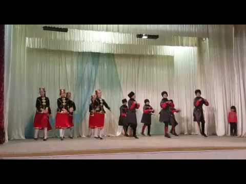 Tipsa Dance In Maykop, Adygea Republic, Russia, Oct.2016