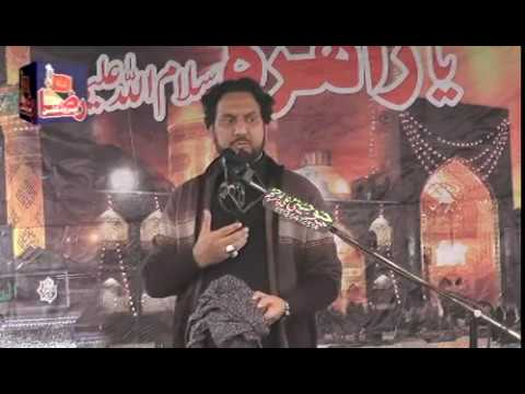 Zakir Syed Iqbal Hussain Shah Bajrwala | Narowali Gujrat |10 November 2018 ( www.Gujratazadari.com )