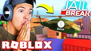BUYING THE NEW $1,000,000 MILITARY HELICOPTER! Roblox Jailbreak Update