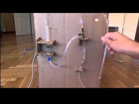 Mini Water Pump  (One way valve/arduino) [HD]