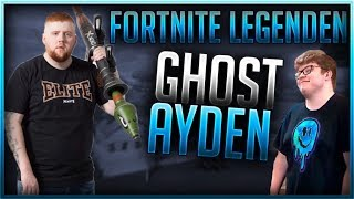 🏆 FORTNITE LEGENDEN: GHOST AYDAN  | Fortnite Battle Royale