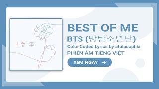 [Phiên âm Tiếng Việt] Best Of Me – BTS