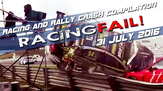 RE-UP! Racing and Rally Crash Compilation Week 31 July 2016
