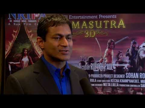 Kamasuthra 3d Cochin Press Meet Dr George John video