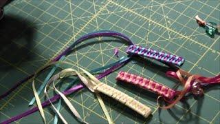 How to Make a Braided Ribbon Barrette