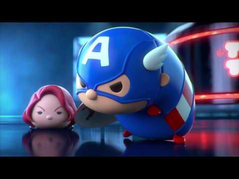 Marvel Tsum Tsum Coming 2016