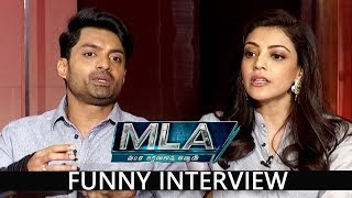 Nandamuri  Kalyan Ram and Kajal Agarwal Interview about MLA Movie | Prudhvi Raj,Brahmanandam #MLA