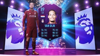 89 RATED POTM VIRGIL VAN DIJK! - FIFA 19 Ultimate Team