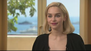 Cannes 2018: Emilia Clarke, from dragons to Millennium Falcon