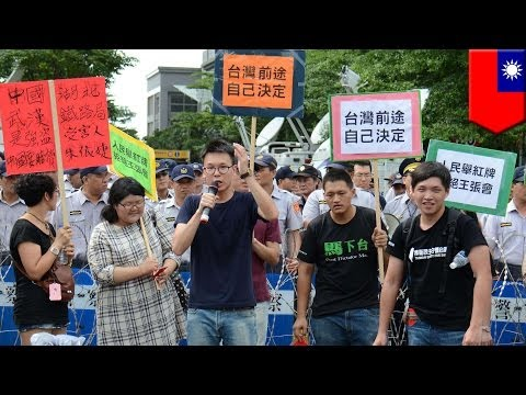 Taiwanese anti-China activists accuse government of abuse of power