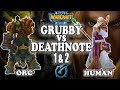 Grubby Grubby Vs Deathnote Game 1 2 Warcraft 3 ORC Vs HU mp3