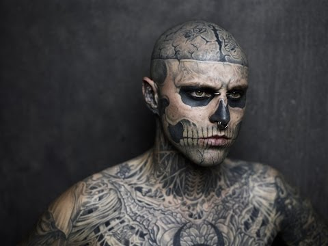 Zombie Boy Magazine Photoshoot (Trailer)