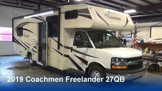 2019 Coachmen Freelander 27QB | Tech Tour