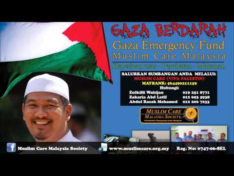 Bicara Muslim Care tentang Gaza di Radio IKIM - Ustaz Ahmad Dusuki