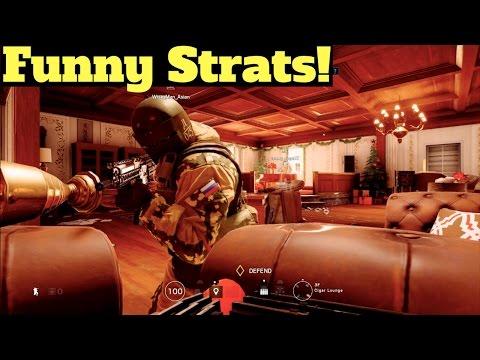 Funny Strats! - Rainbow Six Siege (Dream Team #65)