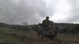 22 MEU and Hellenic Army Conduct Live Fire Exercise