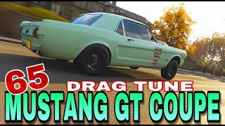FORZA HORIZON 4 - DRAG TUNE - 1965 FORD MUSTANG GT COUPE
