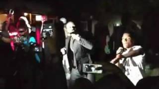 Akon wiz kid- don't dull remix LIVE 2011 ( @Akon @wizkidayo @Tiwaworks)