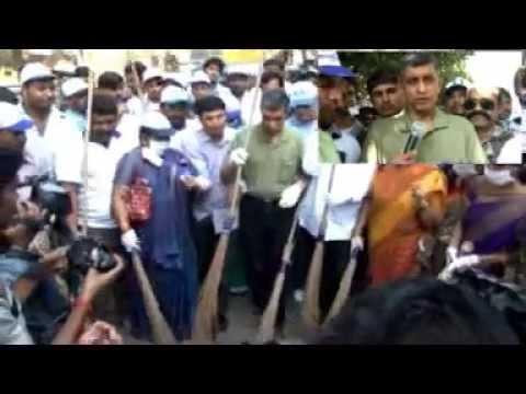 Dr.JP Challenges SS Rajamouli, Pawan Kalyan .. etc for Swachh Bharat
