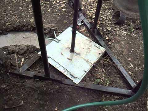 Pozo de agua perforadora portatil