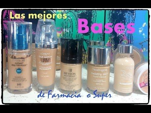 Las Mejores Bases de Maquillaje Farmacia o super / Alicia Borchardt