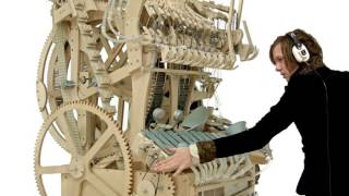 Wintergatan Marble Machine music instrument using 2000 marbles موسیقی جمیل 2016