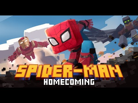 Minecraft PE- Spider Man Homecoming- Official trailer