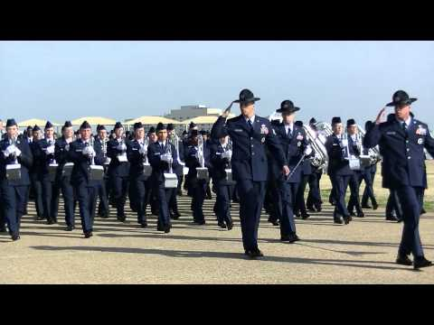 Air Force Basic Military Training (bmt) Graduation Parade, 7 March 2014 (official) video
