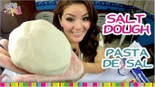 How to make Salt Dough / Cómo hacer masa de sal.
