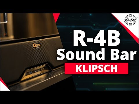 Klipsch R-4B Soundbar | Upgrade Your TV Sound for Under $150!!