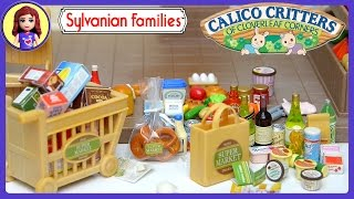Sylvanian Families Calico Critters Supermarket Set Unboxing Review - Kids Toys
