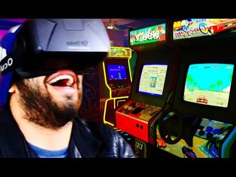 WARNING: AMAZEBALLS! | Gaming Arcade In VIRTUAL REALITY | Oculus Rift DK2