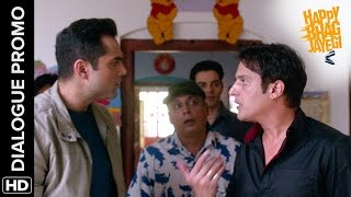 Jimmy Sheirgill gets 'Finicky' over his Cards!   Happy Bhag Jayegi   Dialogue Promo