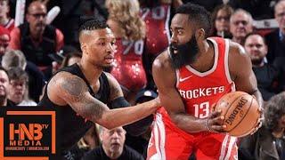 Houston Rockets vs Portland Trail Blazers 1st Half Highlights / March 20 / 2017-18 NBA Season