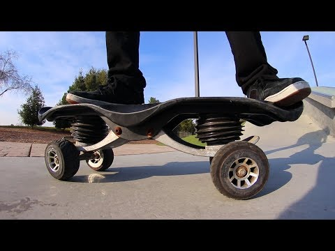 THE WEIRDEST SKATEBOARD INVENTION OF ALL TIME?!