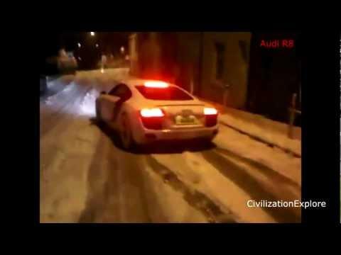 Compilação de acidentes com carros de luxo