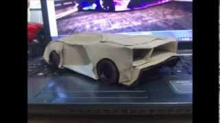 Lamborghini Aventador PaperCraft |  Paper Car | How To Make