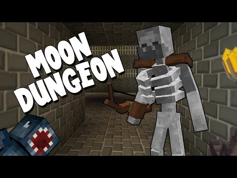 Minecraft - Mission To Mars - Moon Dungeon! [14]