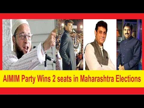 Asaduddin Owaisi and MIM Party's HISTORICAL win in Maharashtra Assembly Elections 2014