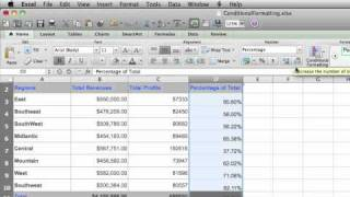 Format numbers in Excel for Mac 2011