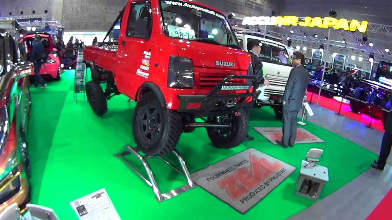 SUZUKI CARRY Off Road Pickup Truck.DT63T - YouTube