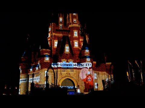 Wreck It Ralph & Tangled Section of Celebrate The Magic Walt Disney World Magic Kingdom