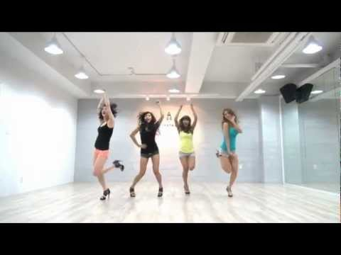 Sistar 'so Cool' Mirrored Dance Practice video